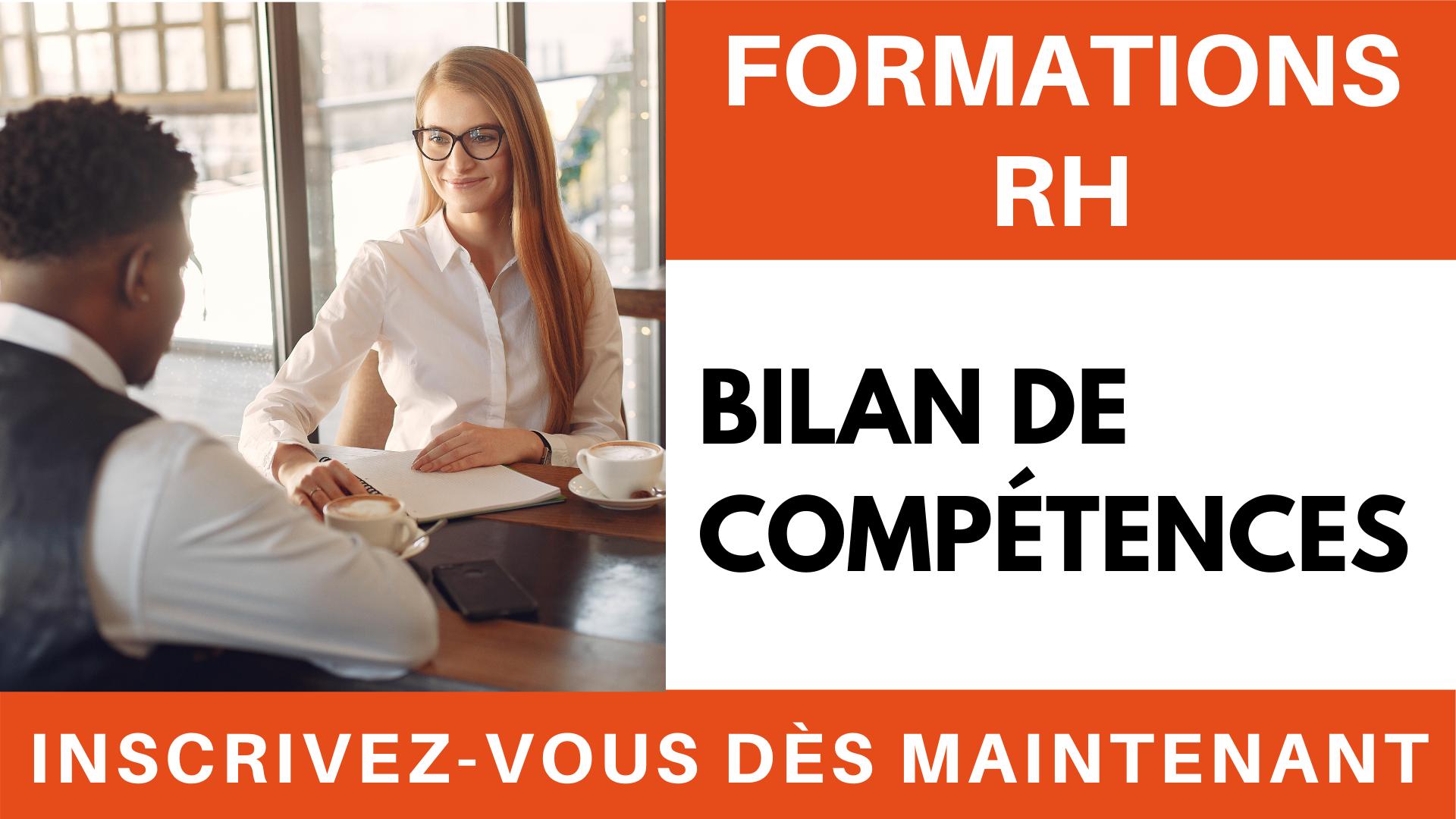 Formation RH - bilan de compétences