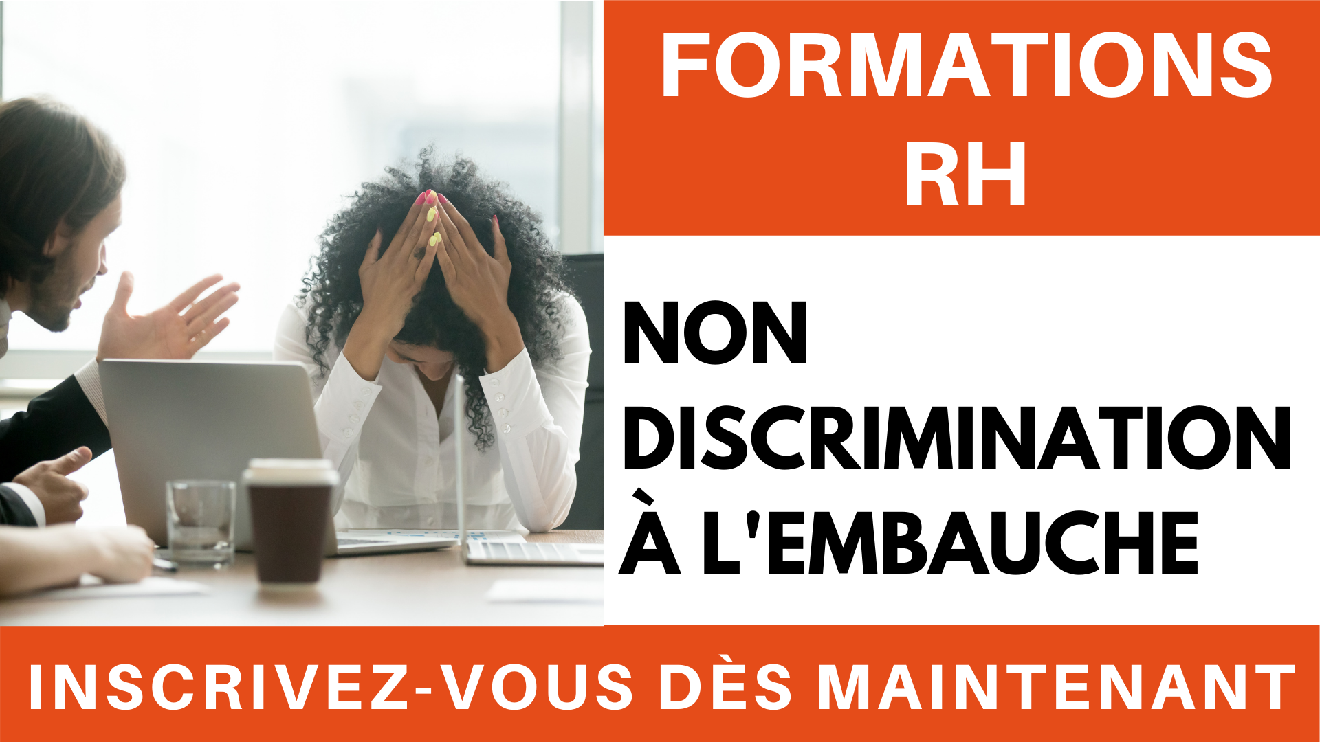 Formations RH  - Non à la discrimination à l'embauche